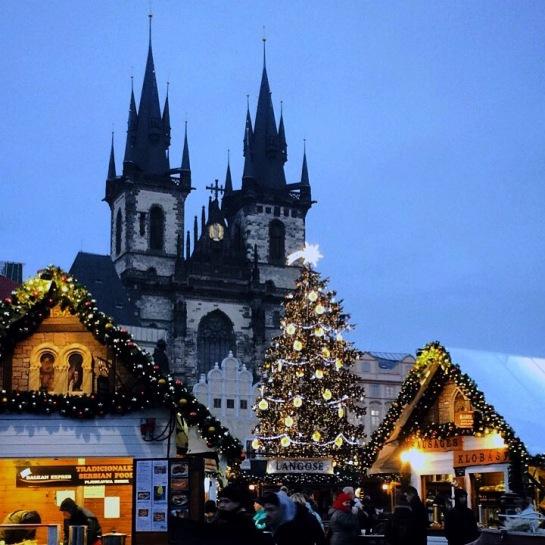 Prague marché de noël